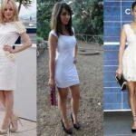 Como llevar y combinar el vestido blanco con zapatos