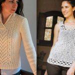 Blusas tejidas de moda 2021  fashion