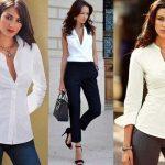 Blusas de moda para la oficina 2021