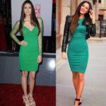 Que calzado puedo utilizar con un vestido de color verde ?