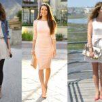 Que zapato combinar con un vestido beige