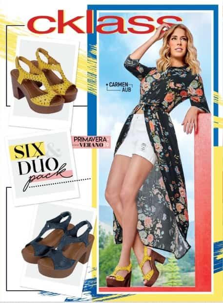 d0e241614 Catalogo cklass Six Duo pack Primavera Verano 2019