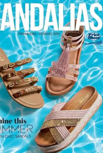 Catalogo Price shoes sandalias 2021