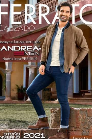 Catalogo ferrato Andrea 2021 zapatos Hombre