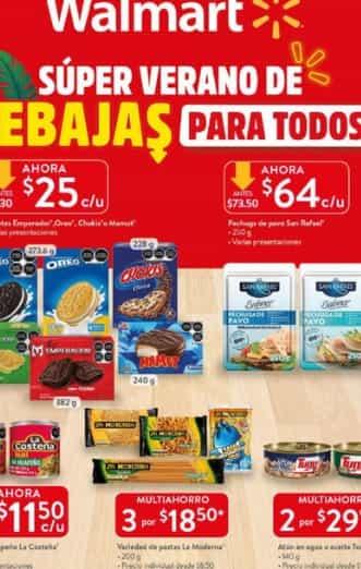 Catalogo Walmart mexico Horarios  Julio  2021