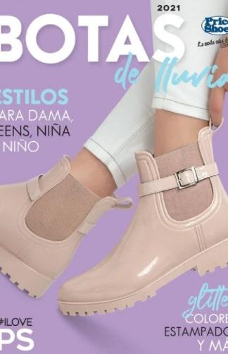 Catalogo Botas de lluvia Price Shoes OI 2021