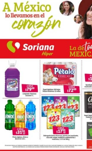 Ofertas catalogo Soriana Super Octubre 2021